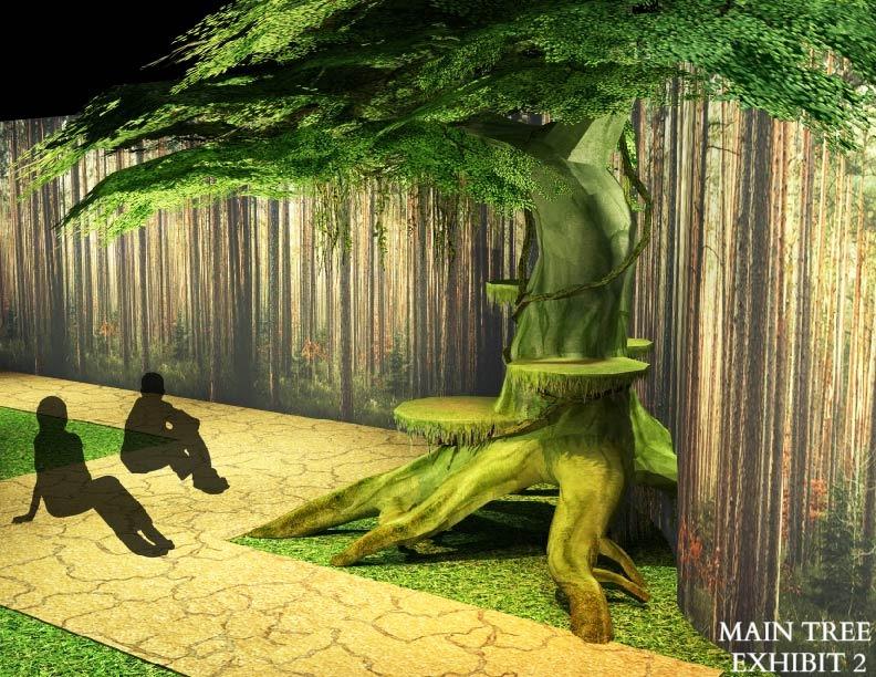 Main Tree Exhibit: Alive