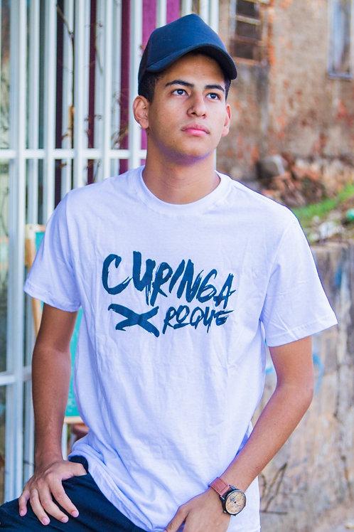 Camiseta Curinga Roque Masculina Logo Alternativo X