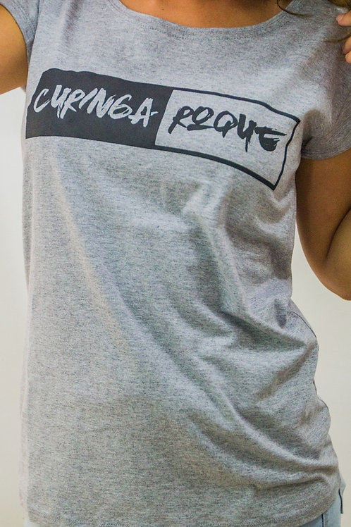 Camiseta Curinga Roque Feminina Logo Alternativo Barra