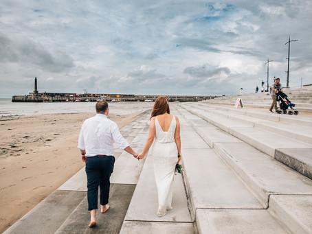 Catherine and Anthony, Margate wedding