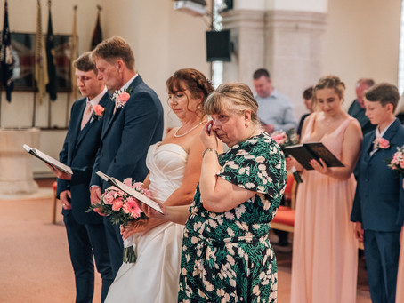 Louise and Martin, Holy Trinity Church in Margate