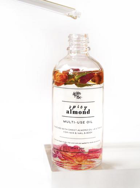 Spicy Almond Multi-use Dry Oil