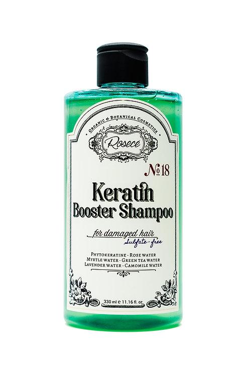 Keratinli Güçlendirici Şampuan / Yıpranmış Saçlar için / Sülfatsız