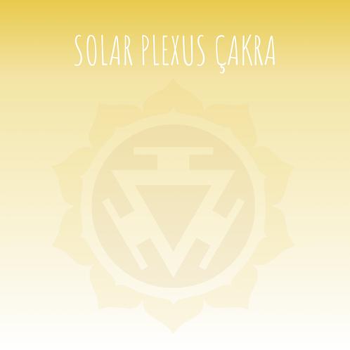 Solar Plexus Çakra Taş Seti