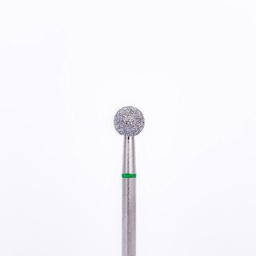 "Фреза алмазная ""шар"" d-50 , зеленое кольцо"