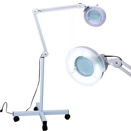 Лампа-лупа напольная, люминесцентная