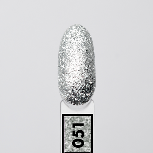 #051 Frozen Stars, Гель-лак для ногтей EvoLac, 8 мл