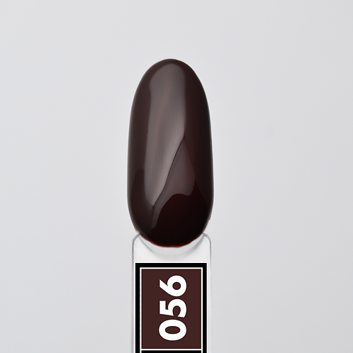 #056 Dark Chocolate, Гель-лак для ногтей EvoLac, 8 мл