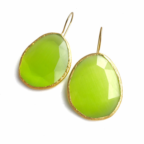 stone gemstone natural small silver earrings jewelry sterling peridot birthstone stud product green studs