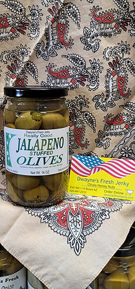 Jalapeno Stuffed Olive