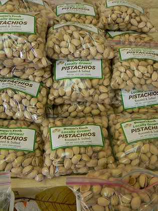 Pistachios Plain Roasted/Salted(Locally Grown)