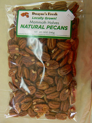 Pecans Whole Mammoth Halves (Locally Grown)