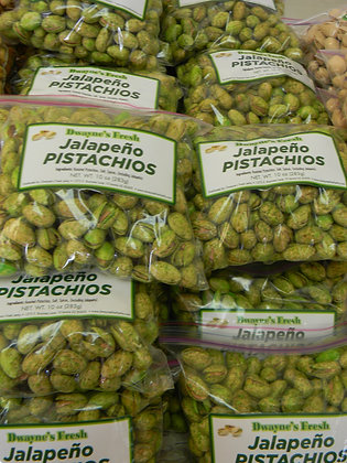 Jalapeno Pistachios (Locally Grown)