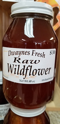 Raw Wild Flower 40oz