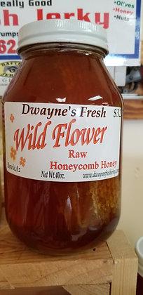 Wild Flower Raw Honey Comb 40oz