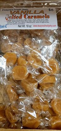 Vanilla Salted Carmels