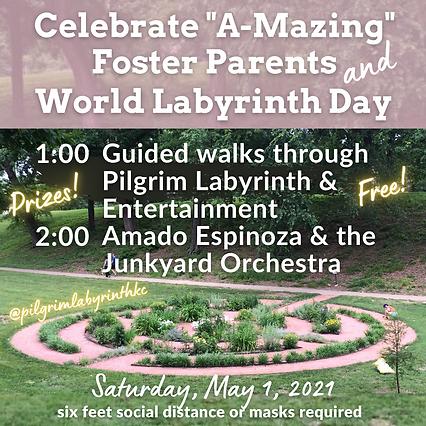 2021 World Labyrinth Day & Foster Apprec
