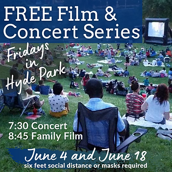 2021 Film Festival and Concert Series in