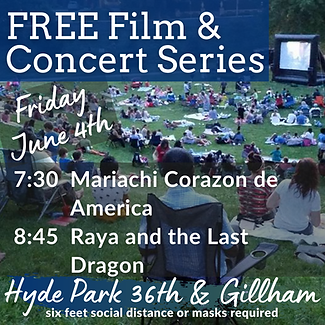 Hyde Park Film Festival and Concert Seri
