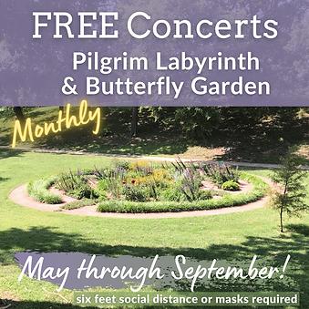 2021 Free Monthly Concerts at Pilgrim La