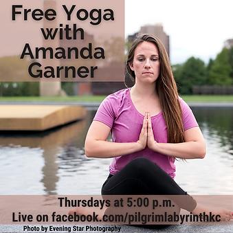 Free Yoga with Yogi Community Amanda Gar