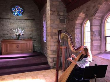 Harpist at Chapel.jpg