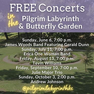 Pilgrim Labyrinth & Butterfly Garden 202