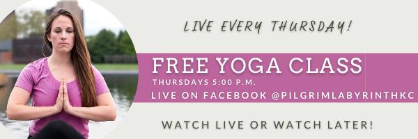 Free Yoga with Amanda Garner Pilgrim Cen