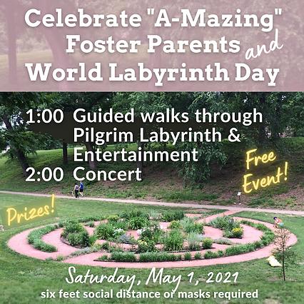 2021 World Labyrinth Day & Foster Parent