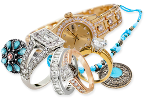 Casg for gold, diamonds, jewelry
