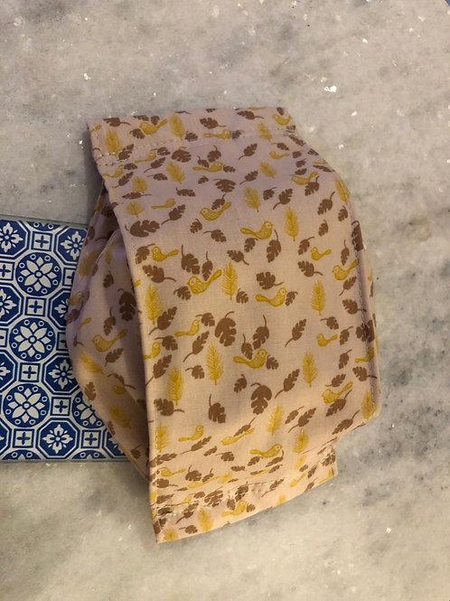 Masque en tissu 100% coton avec filtre