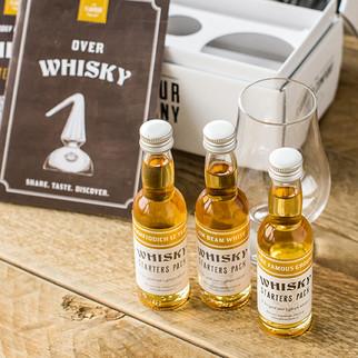 Whisky Flavour Packs, Beginset, Cadeaubox