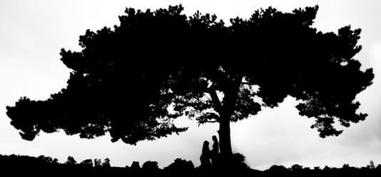 Silhouette fotograaf