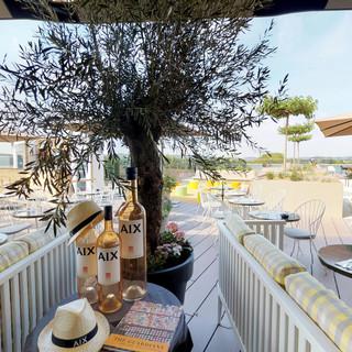Restaurant-terasse: Skybar