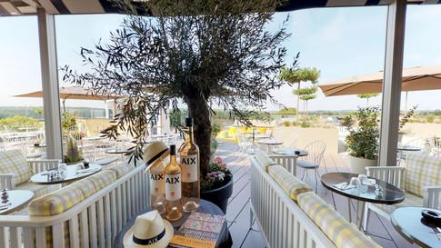 Restaurant - terrasse Skybar