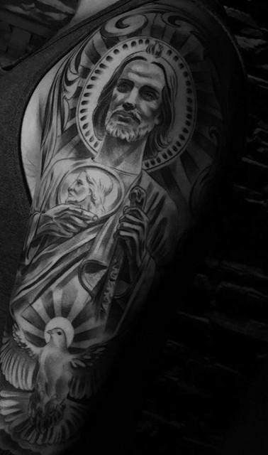 saint jude tattoo