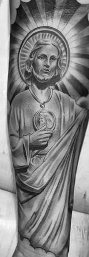 saint jude tattoo