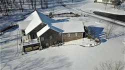 Snow at Lake Shore