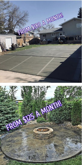 Driveway replacements, Stamped Concrete, Garage Pads, Concrete Contractor