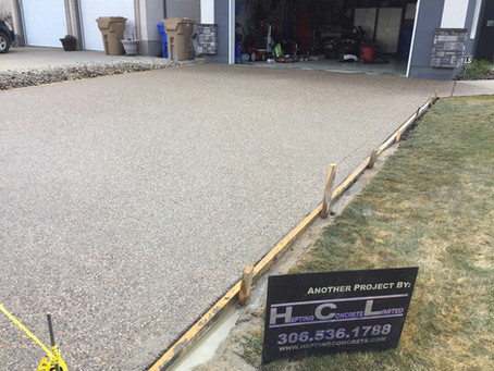How to maintain your concrete?  Here are some helpful tips.