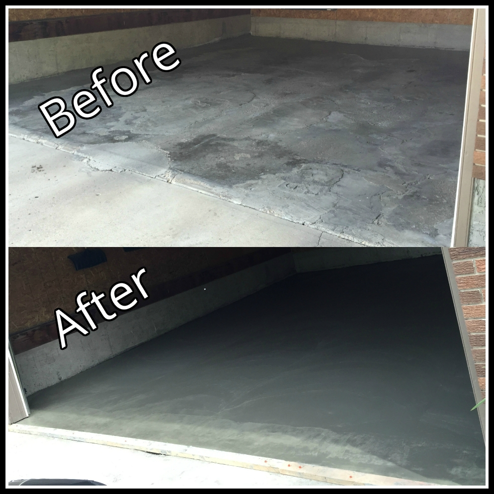 Concrete Garage pad replacement
