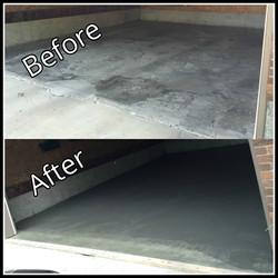 Concrete Garage pad replacement