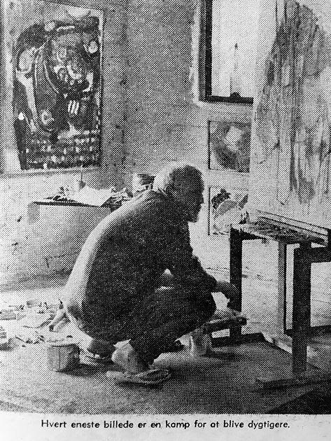 Erling Gregers, Kunstner 1966