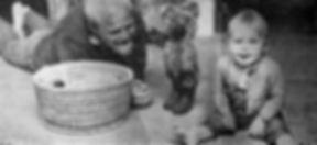 Erling Gregers med datteren Sissel