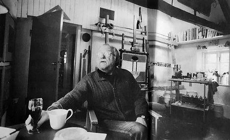 Erling Gregers Atelier i Bakkeskoven