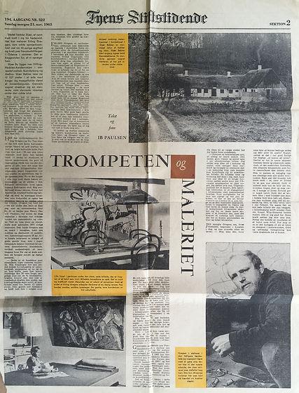 Erling Gregers, Fyens Stiftstidende 1965
