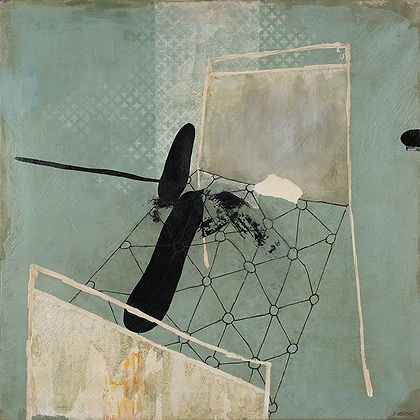 """Maleri af Erling Gregers kaldet """"Efterspil"""""""