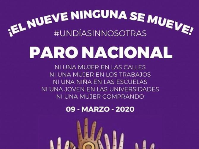 #UnDiaSinMujeres México CDMX #9M