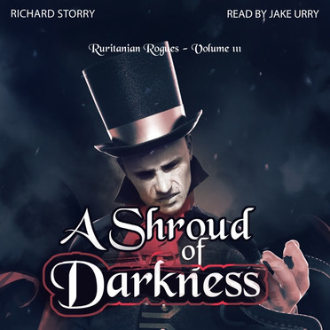 Shroud of Darkness Audiobook Cover