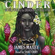 Cinder Audiobook Cover